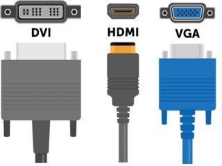 HDMI VGA DVI КАБЕЛЬ